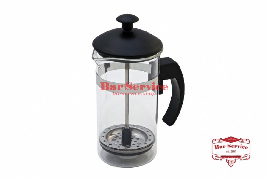 Чайник-кофейник Черный Объем: 350 мл. (френч пресс) в Новосибирске